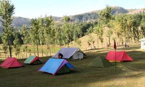 dhanaulti adventure camps